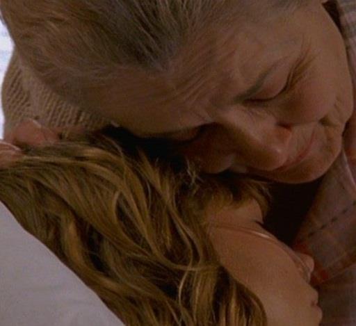 il saluto della nonna a Jen