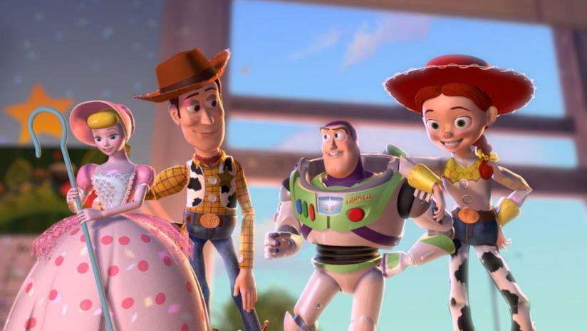 I protagonisti di Toy Story
