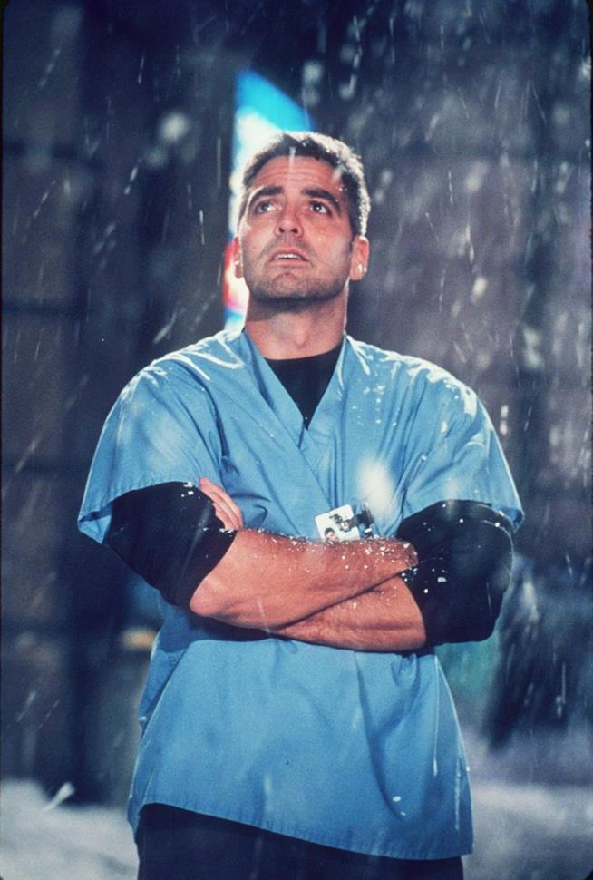 Doug Ross è interpretato da George Clooney