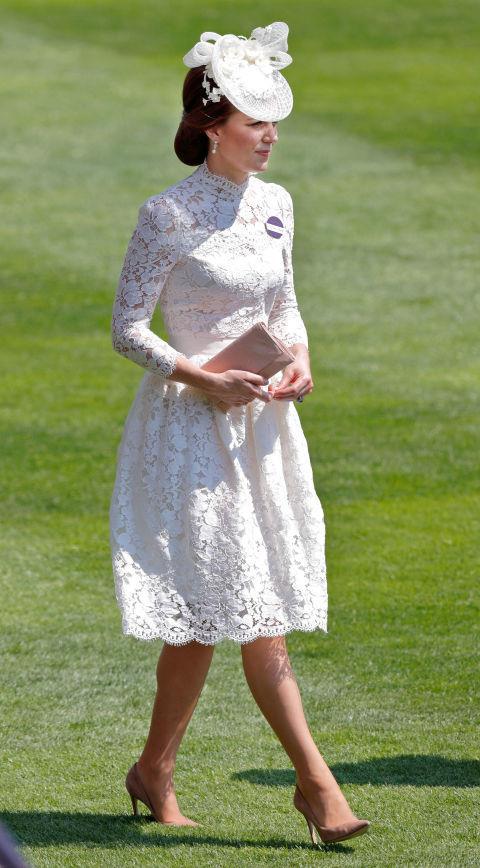 Kate Middleton al Royal Ascot nel giugno del 2017