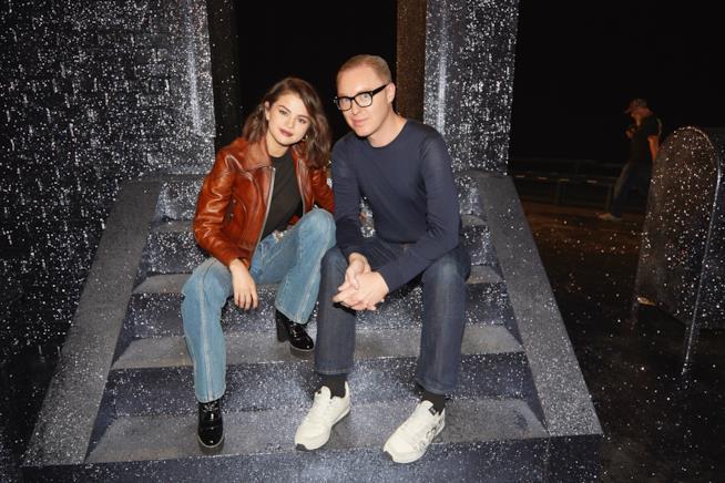 Selena Gomez e il direttore creativo di Coach, Stuart Vevers