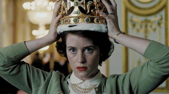 La Regina Elisabetta II in The Crown
