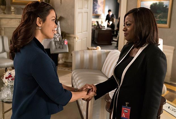 La foto del crossover tra Scandal e Le regole del delitto perfetto