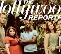Il cast di This is Us in copertina sull'Hollywood Reporter