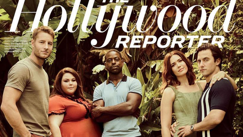 Il cast di This is Us in copertina sull'Hollywood Reporter