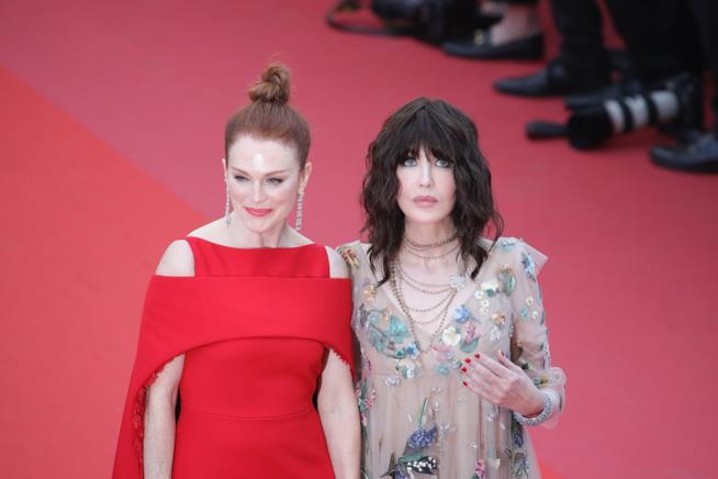 Julianne Moore e Isabelle Adjani a Cannes 2018