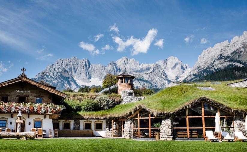 Paesaggio montano del Tirolo, Stanglewirt.