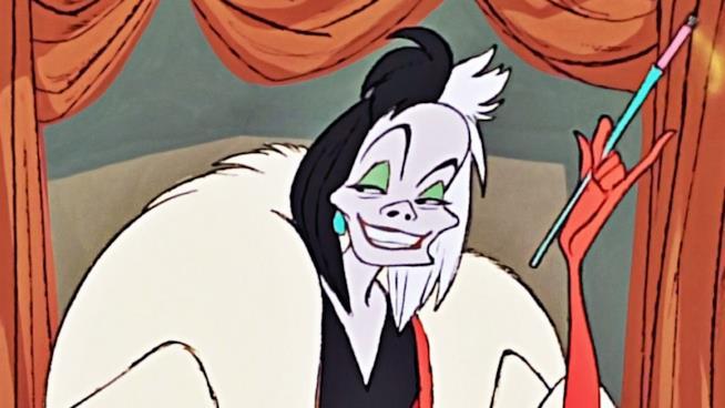 La villain Crudelia De Mon