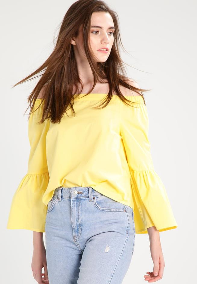 Camicia giallo - primavera estate 2018