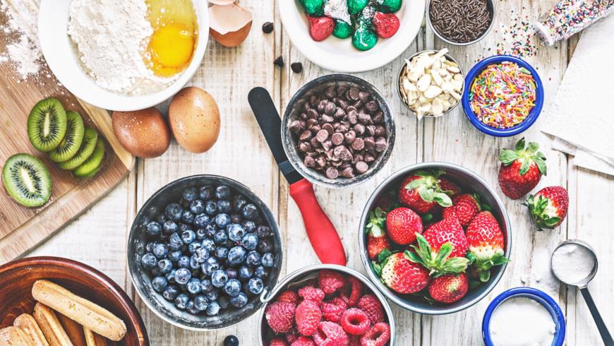 Tutti gli ingredienti sani e golosi per un dolce