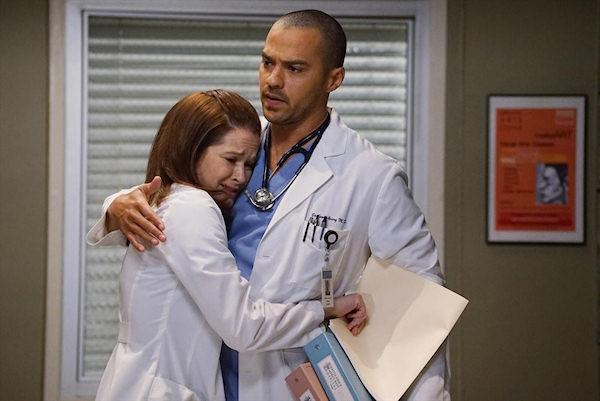 Grey's Anatomy: April e Jackson in un'immagine promozionale