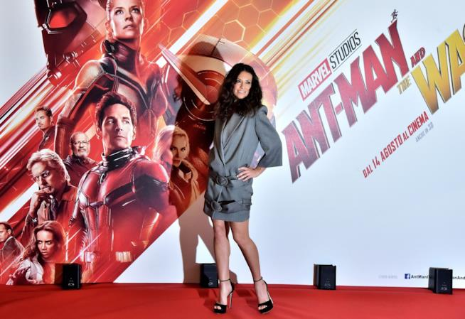 Evangeline Lilly a Roma per Ant-Man and the Wasp