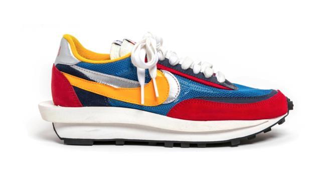 Sacai x Nike LDV Waffle Daybreak rosse