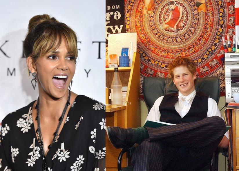 Il principe Harry ad Eton e Halle Berry