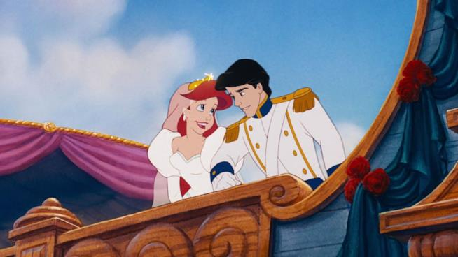 La sirenetta e il principe sposi