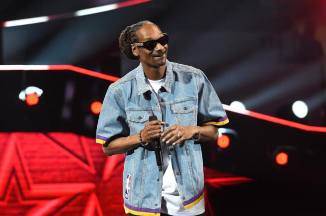 Snoop Dogg durante una esibizione