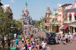 Uno scorcio di Disneyland Paris