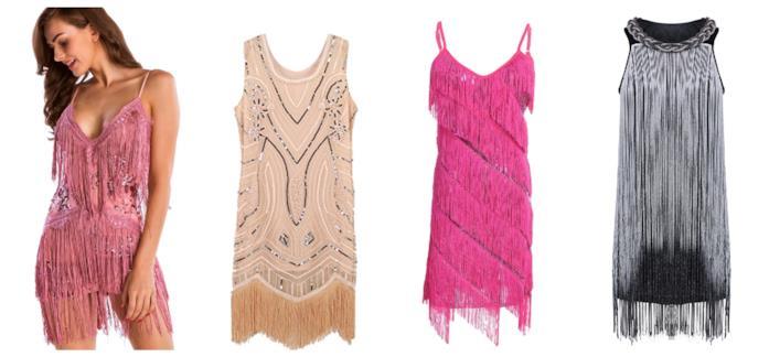 cca48dda793d Amazon Fashion Con le frange, gli abiti di tendenza per l'estate 2018