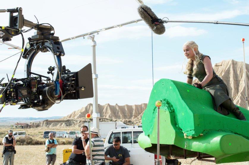 Daenerys Targaryen in una scena di GOT