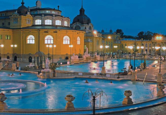 Ponte del 25 Aprile: 10 mete top: Budapest terme