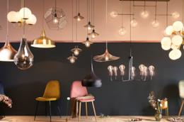 Un'immagine dei lampadari di Maisons du Monde