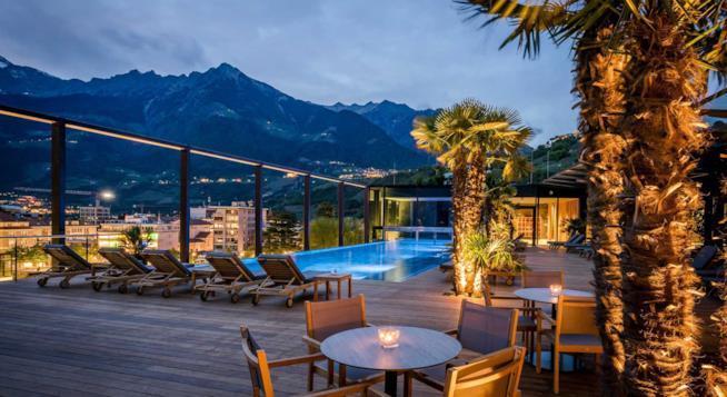 Hotel terme Merano sky spa