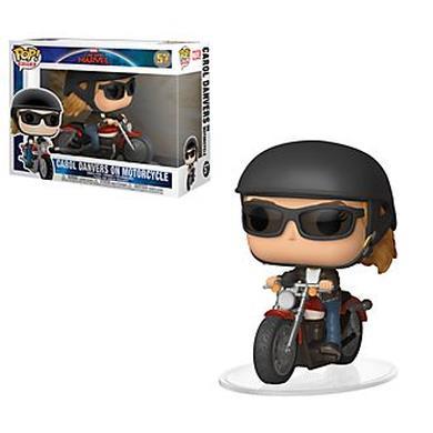 Personaggio in vinile Carol Danvers sulla moto
