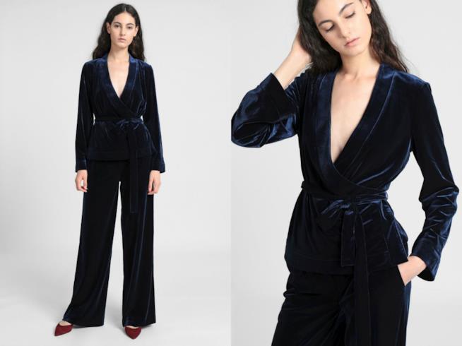 Completo blazer e pantaloni di tendenza