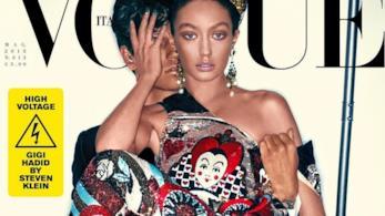 Gigi Hadid su Vogue Italia