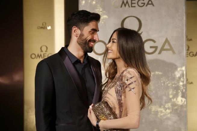 Giorgia Palmas e Filippo Magnini felici insieme
