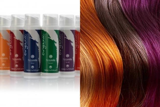 Le sfumature della collezione No Limits di Organic Colour Systems tinte semipermanenti