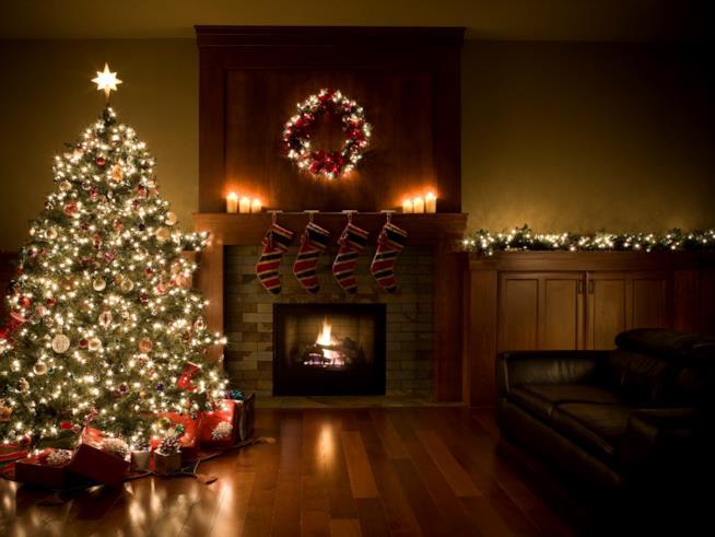 Alberi Di Natale In Legno Addobbati : Decorazioni di natale fai da te utilizzando legno di recupero
