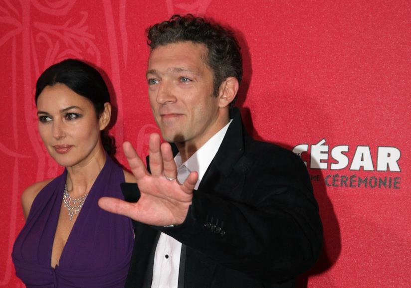 Monica Bellucci e Vincent Cassel quando stavano insieme