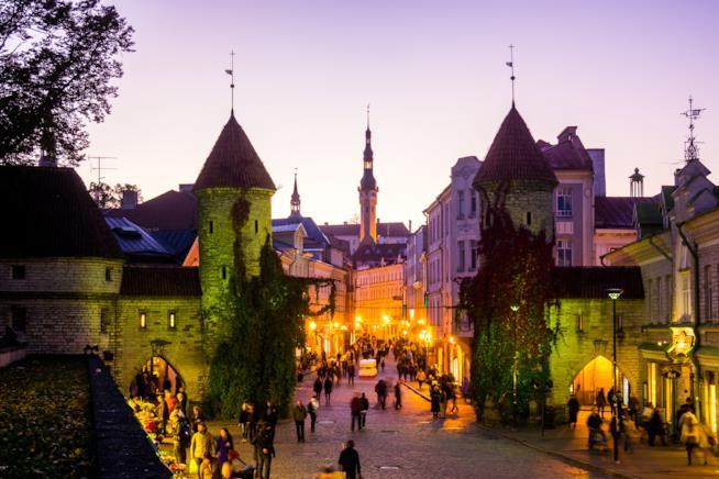La Città Vecchia di Tallinn