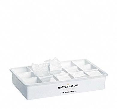 Stampo per cubetti di ghiaccio con scritta Moët