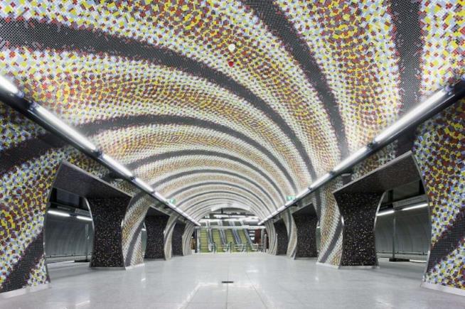 Stazione Szent Gellért tér , Budapest  interno