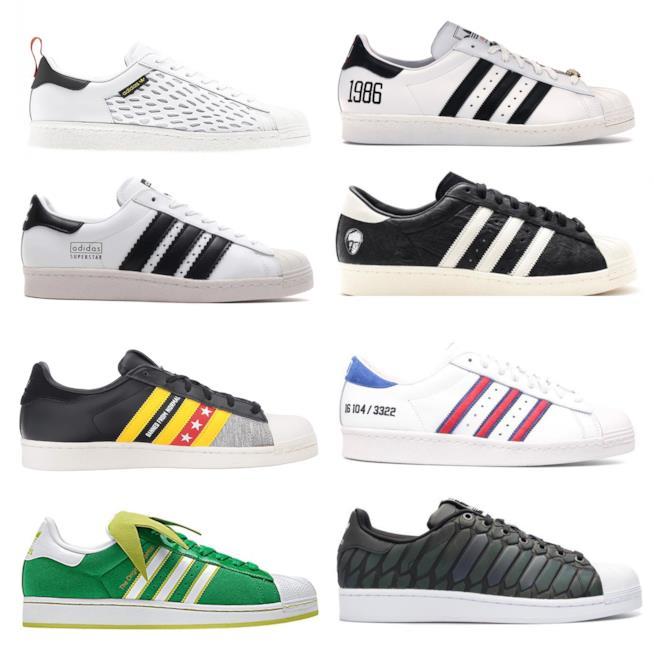 sports shoes dff39 a86e9 Le edizioni speciali delle adidas superstar