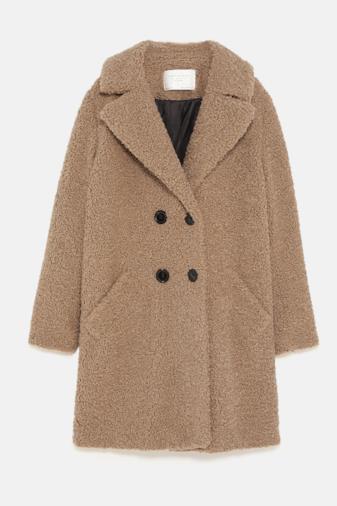 Cappotto di pelliccia sintetica