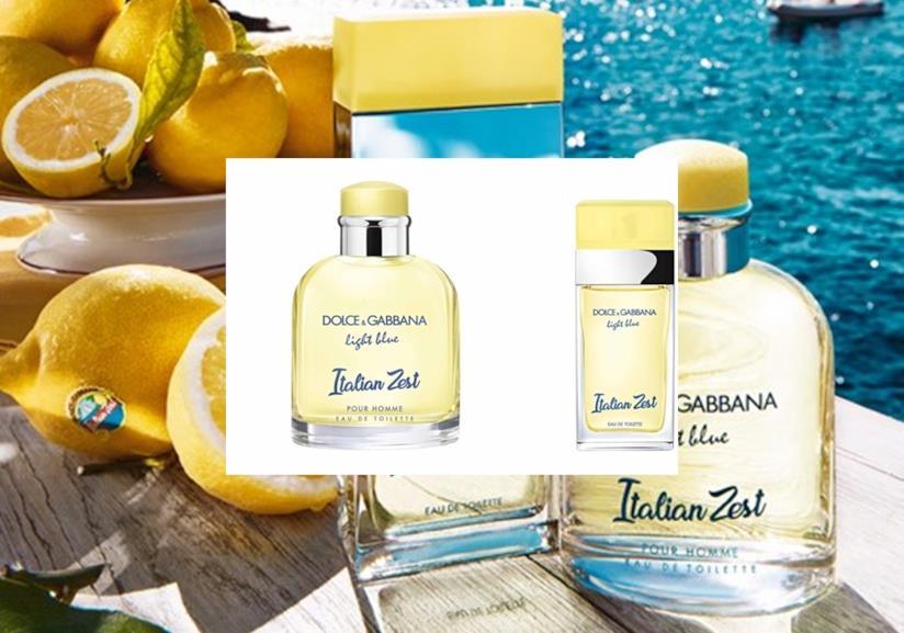 La nuova fragranza estiva di Dolce&Gabbana per lei e per lui Light Blue Italian Zest