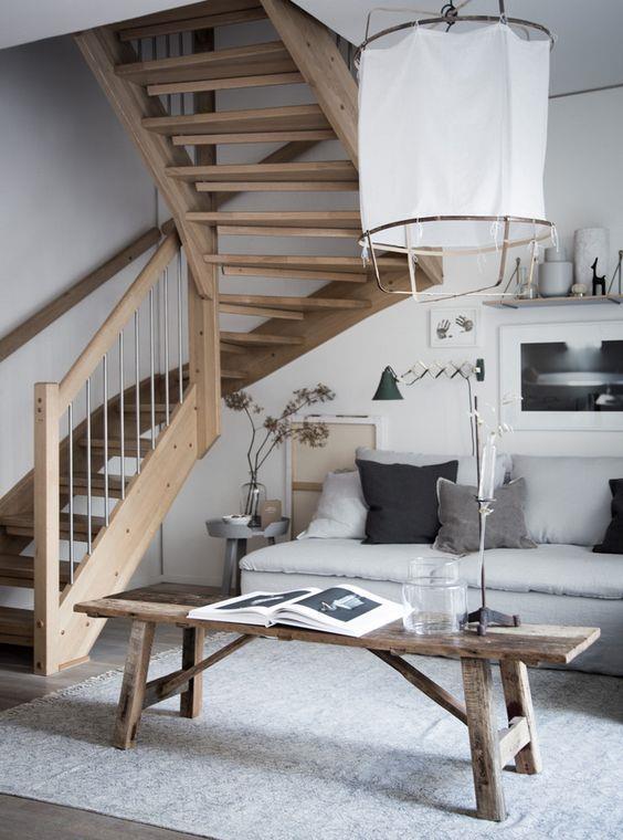 Salotto in stile scandinavo