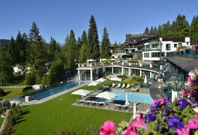 Ponte del 25 Aprile: 10 mete favolose: Tirolo, SPA Astoria Resort Seefeld