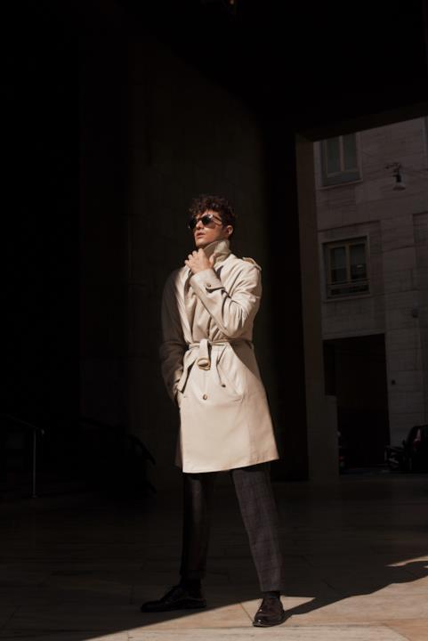 L'ex modello e influencer Gian Maria Sainato
