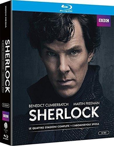 Cofanetto Blu-ray di Sherlock - Stagioni 1-4+L'Abominevole Sposa
