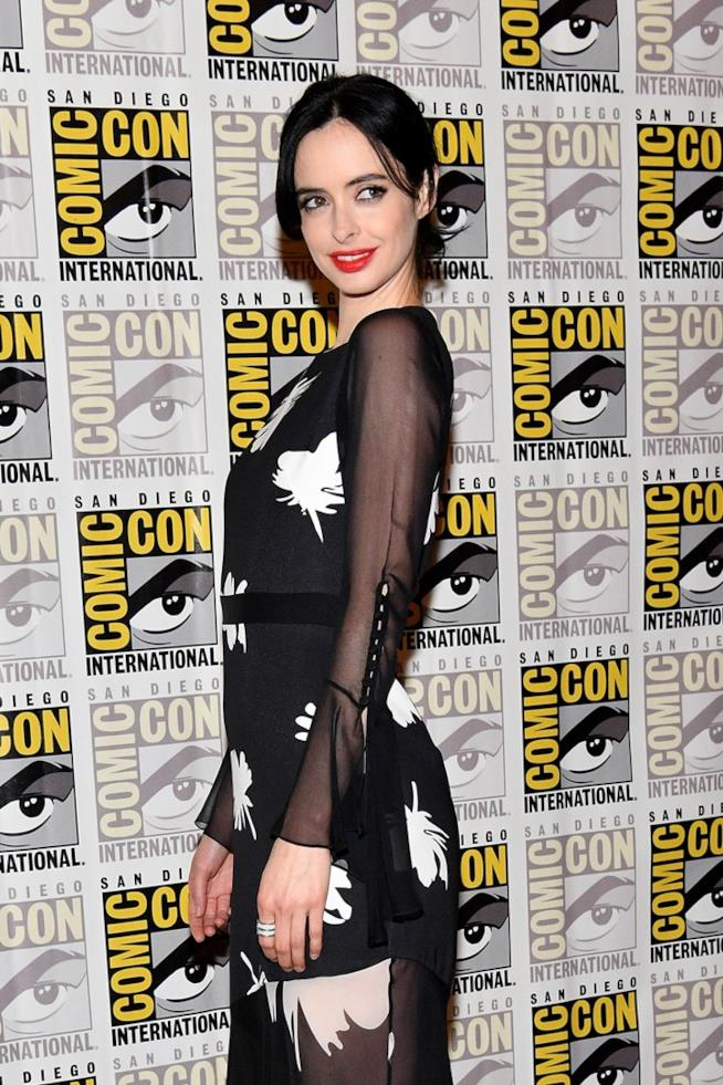 Kryster Ritter al panel di The Defenders al Comic-Con 2017