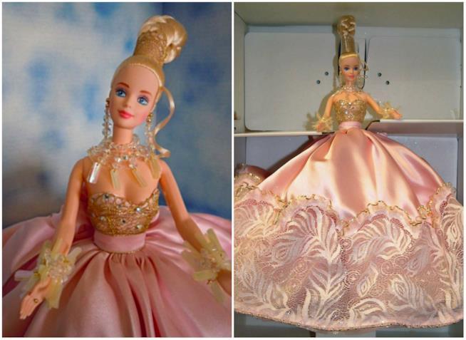 Pink Splendor Barbie a mezzobusto e figura intera