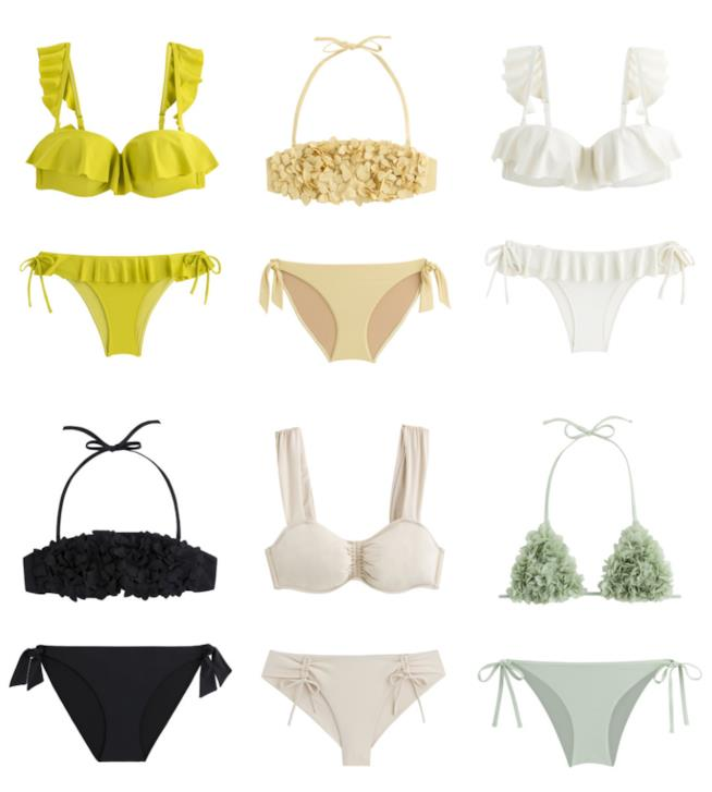 Bikini Oysho Join Life con tanga e lacci