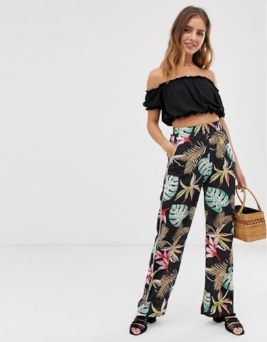 Pantaloni tropicali