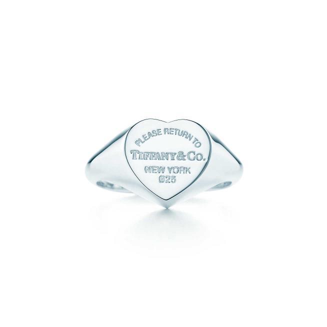 Anello Tiffany per regalare di Natale