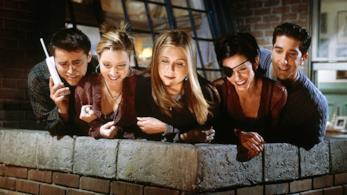 Una scena della serie Friends