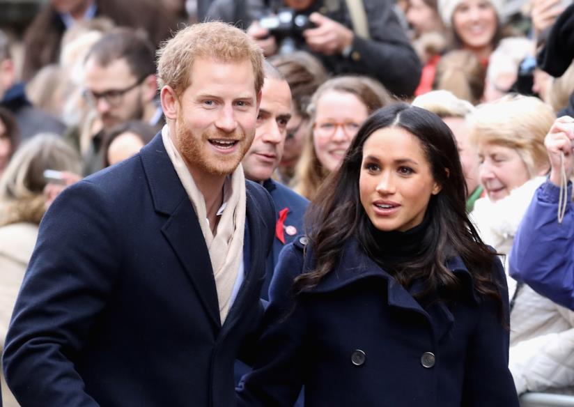 Il Principe Harry con la futura moglie Meghan Markle